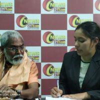 बाबा राम केवल अनशनकारी से न्यूज़ 21 टीवी की पत्रकार पूजा सोलंकी ने की खास बातचीत ....