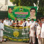 फिरोजपुर झिरका ब्लॉक समिति की चेयरपर्सन-वाइस चेयरमैन समेत कईयों ने ज्वाइन की जेजेपी